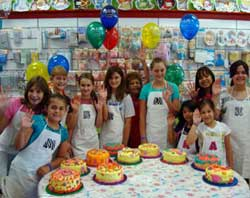 Cake party at AGS Cake Supplies